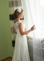 Pani Justyna w sukni Ligia 2