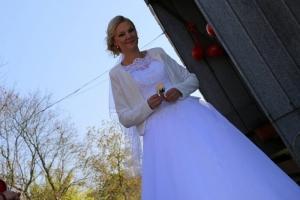 Pani Marta w sukni Doris 1