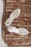 Materiał biała perła